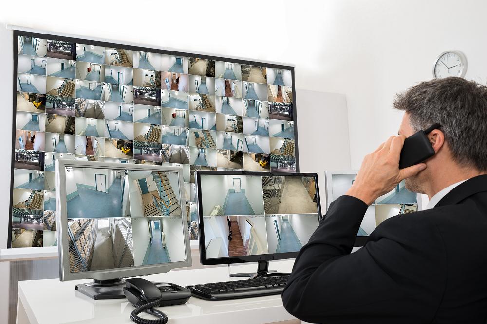видеонаблюдение с техника на клиент